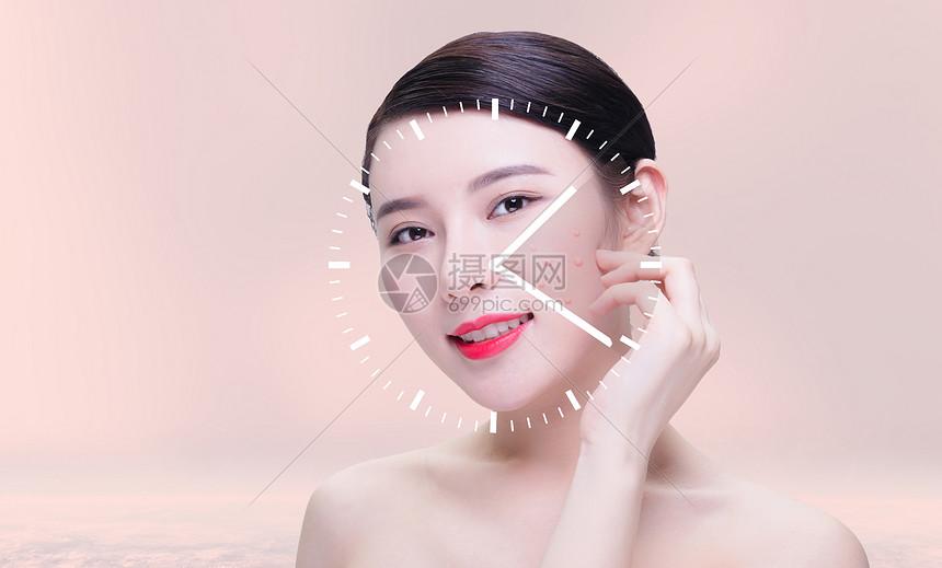 美容祛痘图片