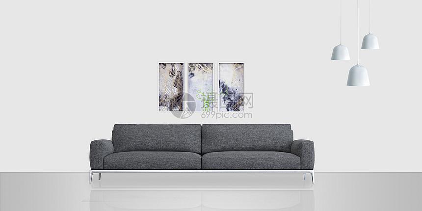简约室内沙发图片