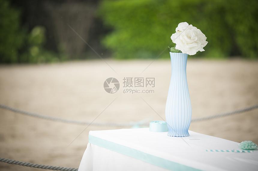 婚礼布置婚礼现场 图片
