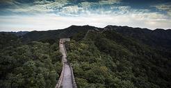 北京地标长城图片
