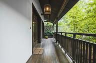 中式古典风格的阳台走廊图片