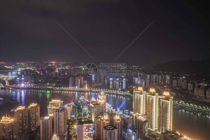 重庆城市建筑风光夜景图片