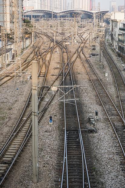 交通铁路轨道图片