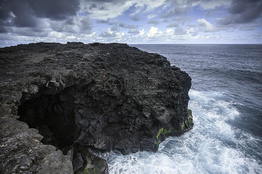 悬崖和大海图片素材_免费下载_jpg图片格式_vrf高清
