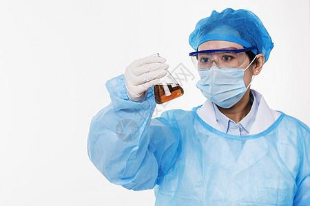 医护人员医疗研究底图图片