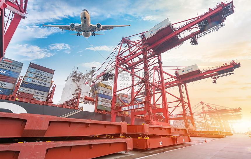 交通贸易运输图片