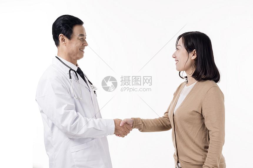 医生患者互动底图图片