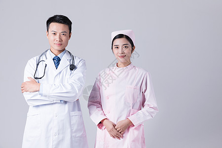 医生护士形象展示棚拍图片