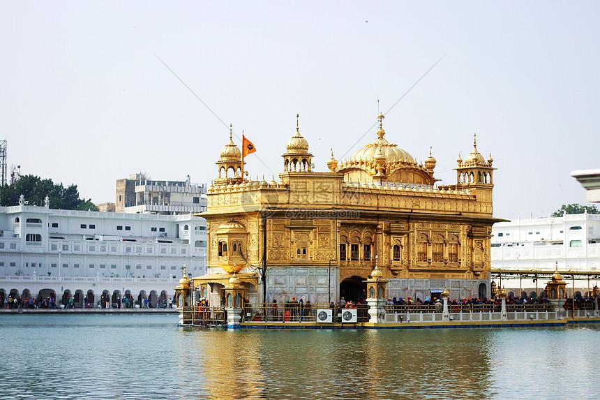 印度金庙图片