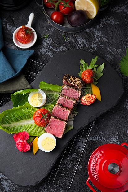 香煎神户牛排图片
