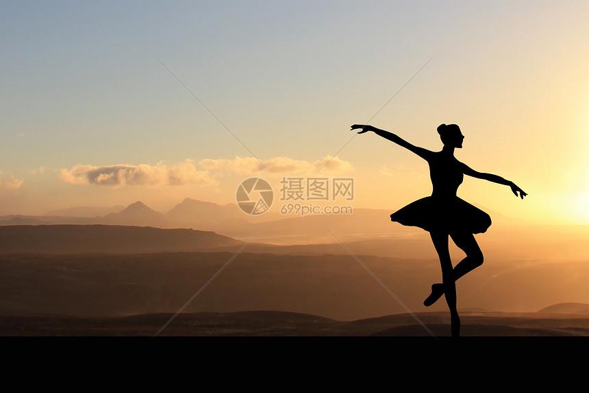 健康芭蕾运动图片