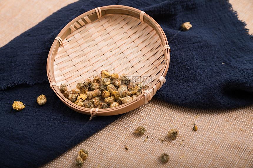 干菊花茶图片