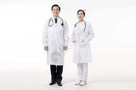 医生护士形象照底图图片