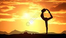 瑜伽健康运动生活图片