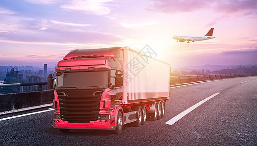 运输物流图图片