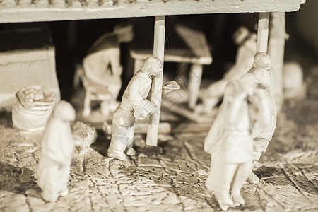 微型雕刻阿Q正传图片
