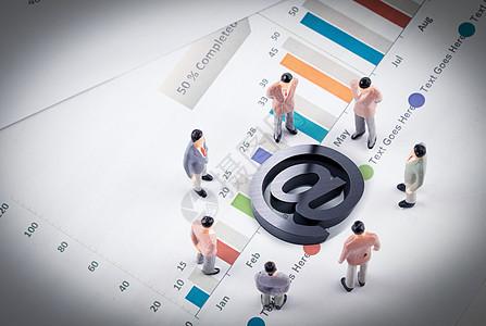 商务互联网经济交流图片
