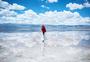 青海茶卡盐湖天地间的信仰图片