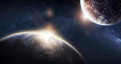太空星球背景图片