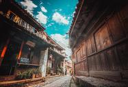 沙溪古镇街道图片