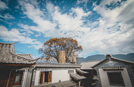 云南大理白族民居图片