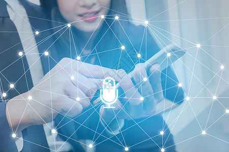 人工智能语音科技图片