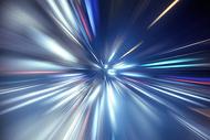 科技感光束素材图片