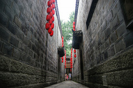 成都锦里街景图片