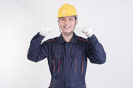 工人喜悦表情图片
