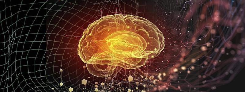 科技大脑神经图片