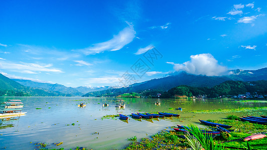 尼泊尔博卡拉费瓦湖图片