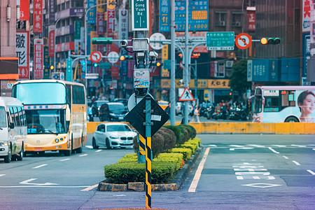 台湾台北街景图片