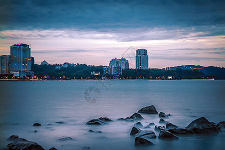 马来西亚亚庇城市景观图片