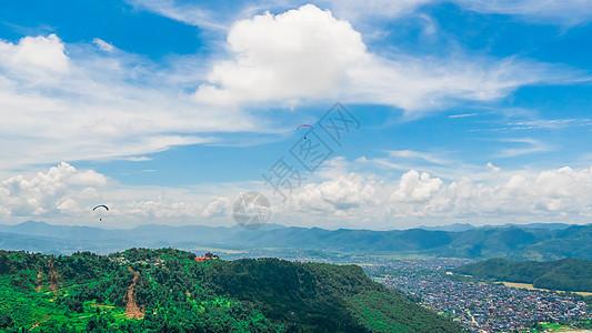 尼泊尔博卡拉自然风光图片