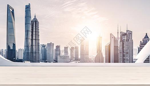 白色平台建筑图片