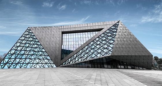 重庆璧山艺术中心建筑特写图片