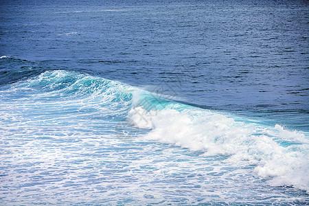 美丽的海浪图片