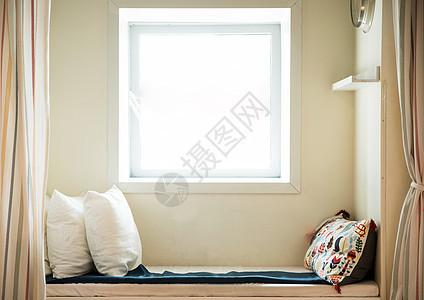 室内家居窗台窗帘图片
