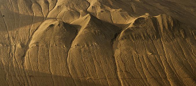 新疆戈壁荒漠山丘文理图片