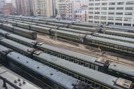 绿皮火车图片