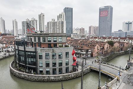 城市发展的新和旧图片