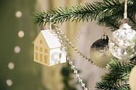 圣诞节装饰圣诞树图片