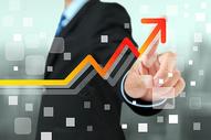 商业人物图表图片