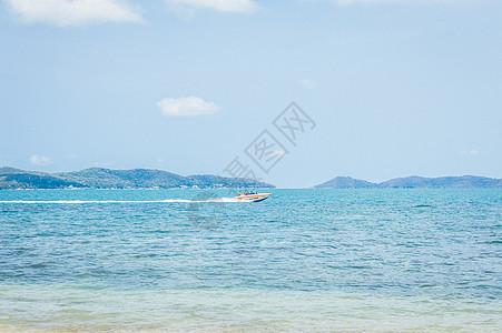 蓝色海景图片