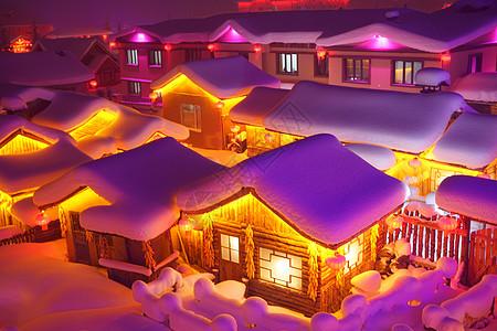 雪乡童话世界图片