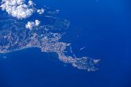 摩洛哥飞机上空地形图片