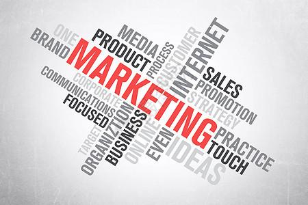 互联网商业营销概念图图片
