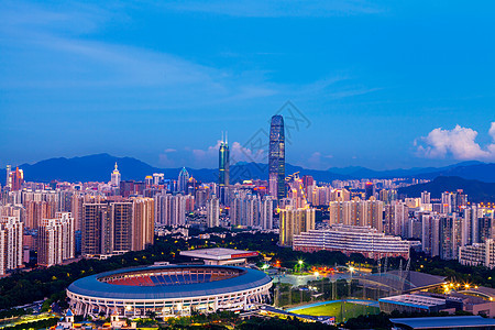 深圳地标城市夜景图片