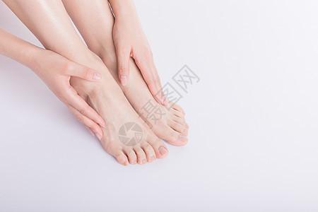 美容形体手和腿图片