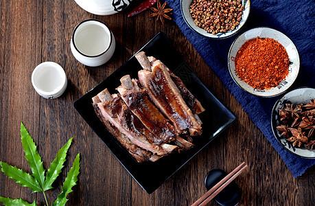腊肉排骨图片